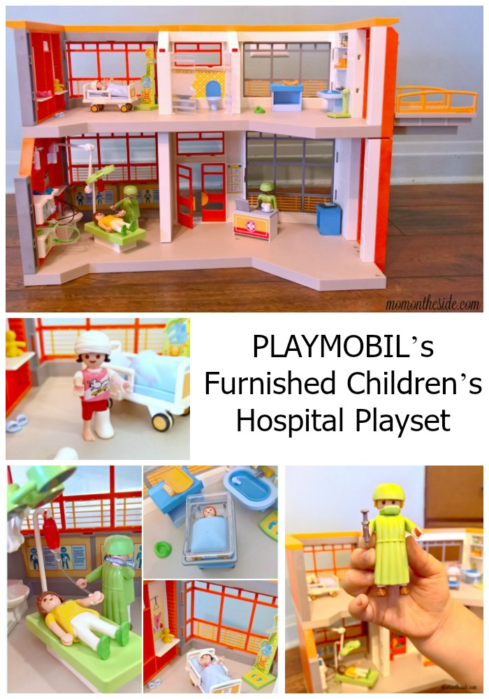 The PLAYMOBIL Hospital playset included nurses, doctors, exam rooms and tons of other accessories that help ease fears about doctor visits and hospitals.