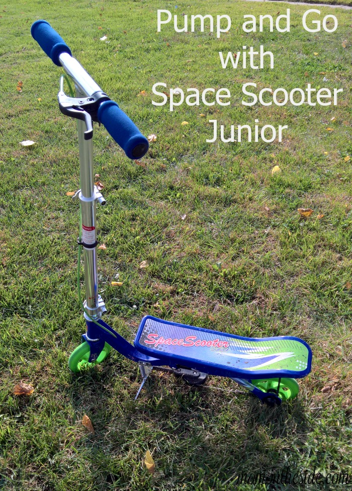 Pump and Go with Space Scooter Junior