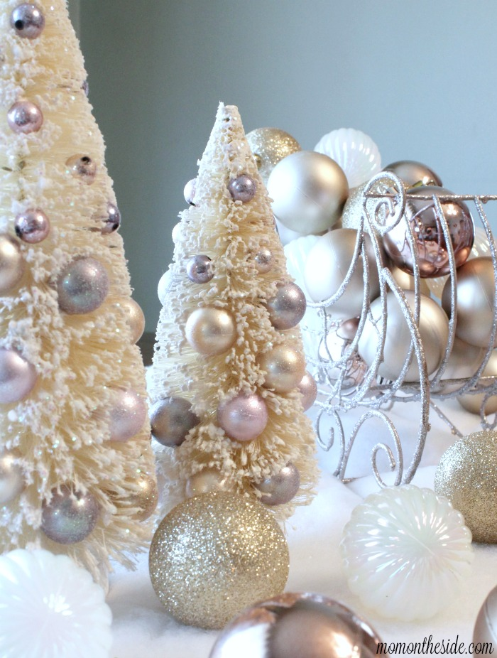 Simple Luxe Holiday Centerpiece (that is kid-friendly!)