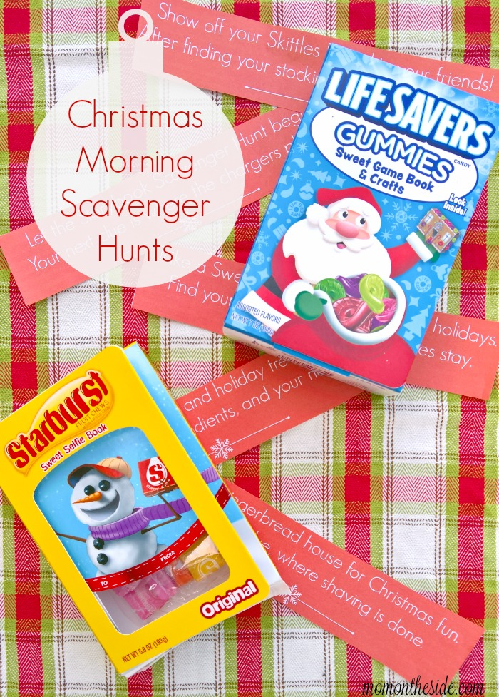 Christmas Morning Scavenger Hunts for Tweens and Teens