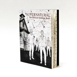 This Supernatural Coloring Book is Everything