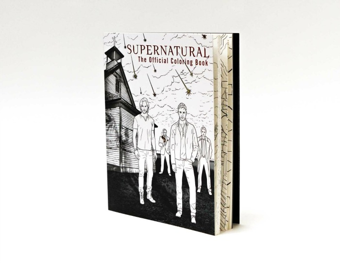 This Supernatural Coloring Book is Everything You've Wanted to Color