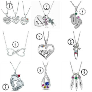 Jewelry for Moms of Twins