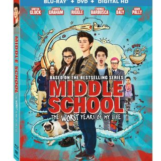 Middle School: The Worst Years of My Life on Blu-ray and Digital HD