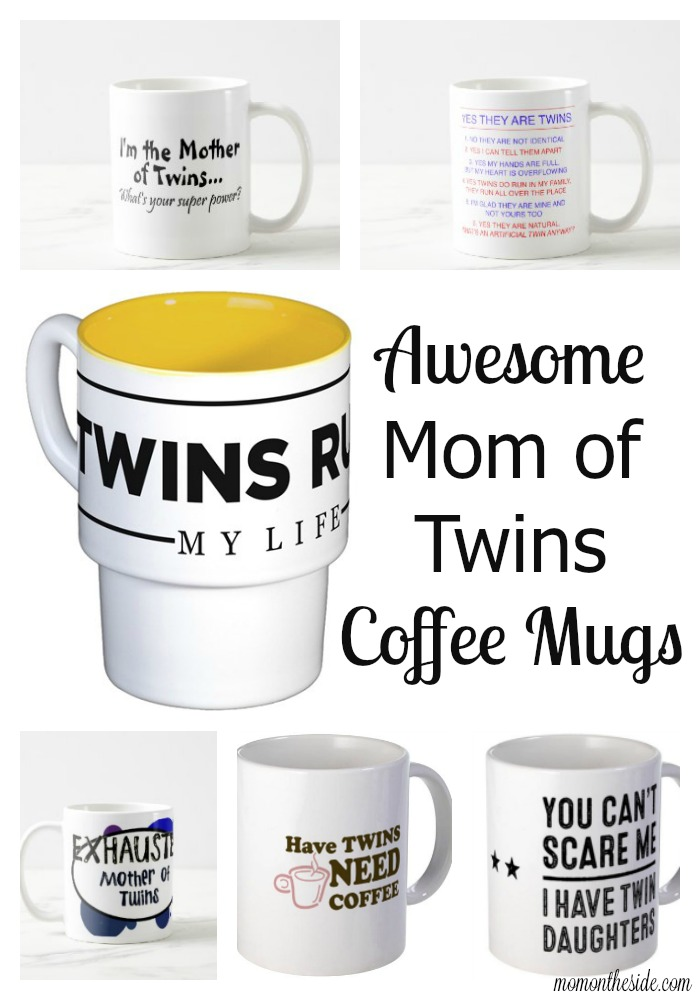 Awesome Mom of Twins Coffee Mugs