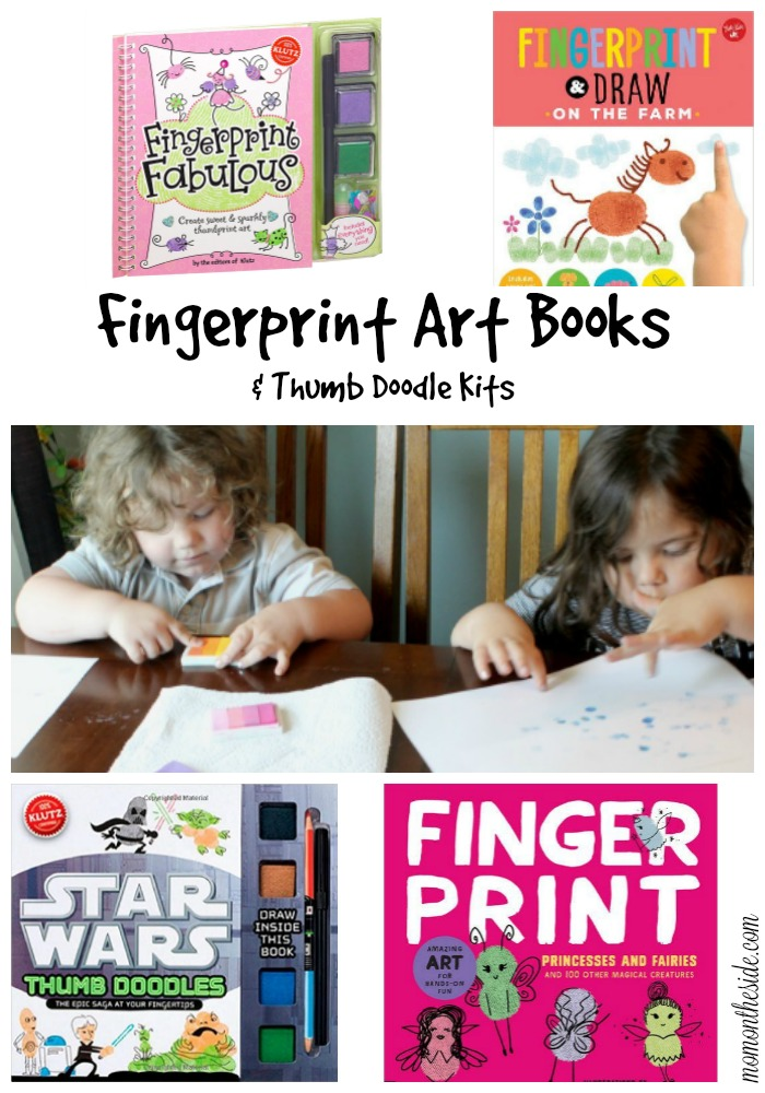 Fingerprint Art Books and Thumb Doodle Kits
