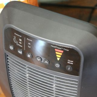Customize Heat Settings with HeatGenius Ceramic Heater