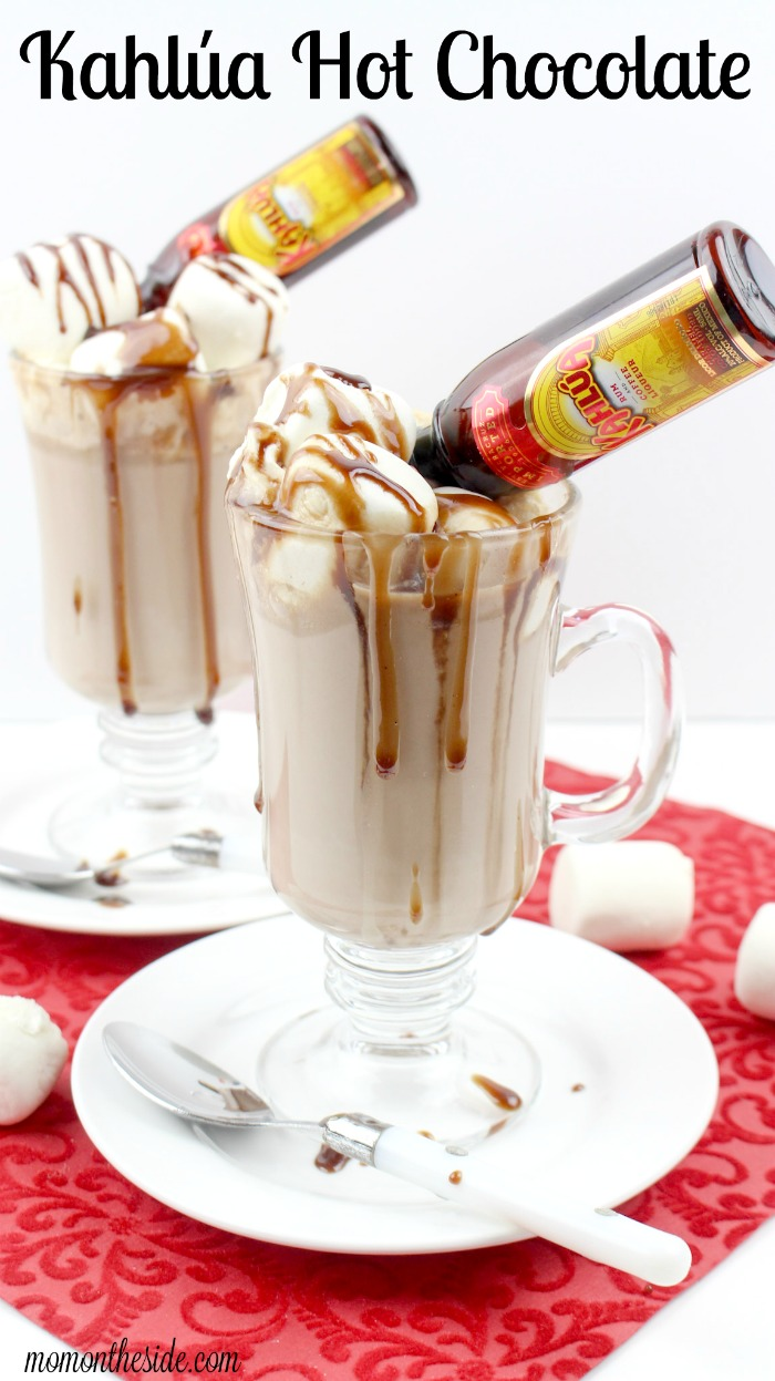 Warm Up with Kahlua Hot Chocolate