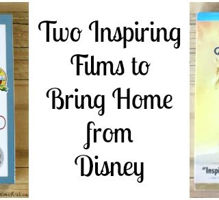 Two Inspiring Films to Bring Home from Disney