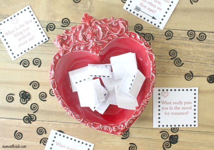 Printable Love Questions for Spouses