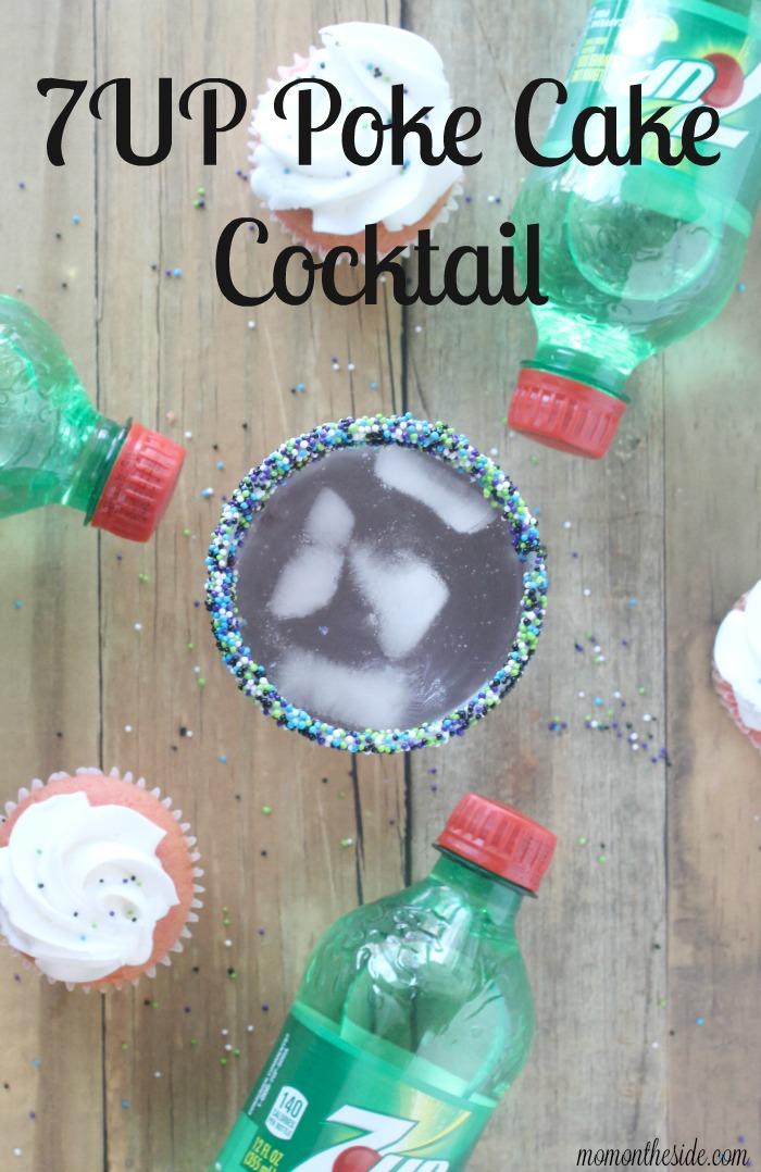 7UP Poke Cake Cocktail