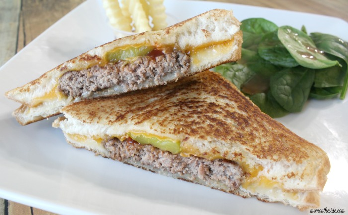 Grilled Cheese Burgers with French's