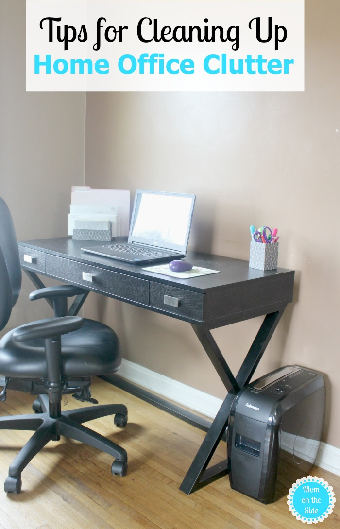 Tips for Cleaning Up Home Office Clutter