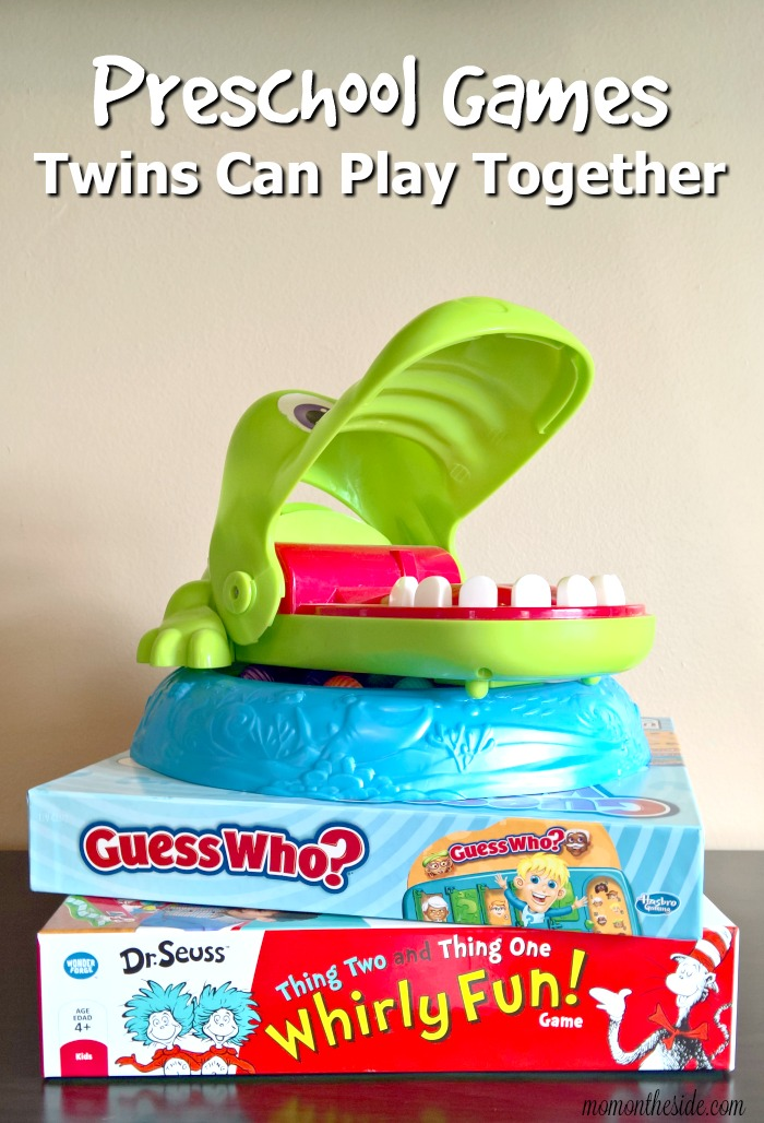 Preschool Games Twins Can Play Together