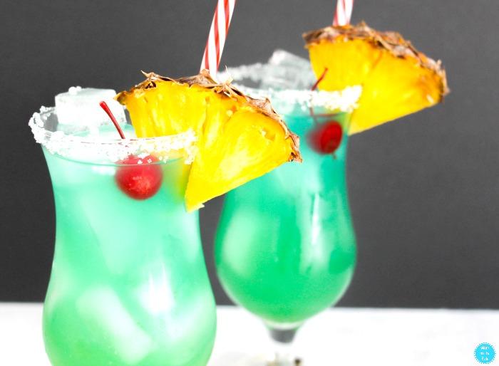 Mocktail Blue Hawaiian