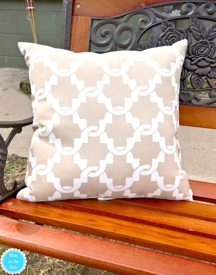 Outdoor Pillows for Benches