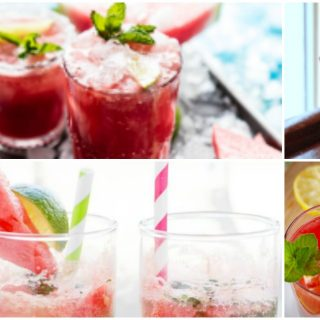 15 Watermelon Mixed Drinks