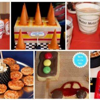 14 Disney Cars Recipes and Crafts for Race Car Parties