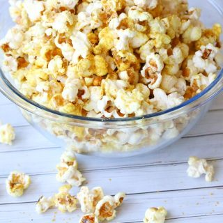 Cheesy Popcorn with a Kick