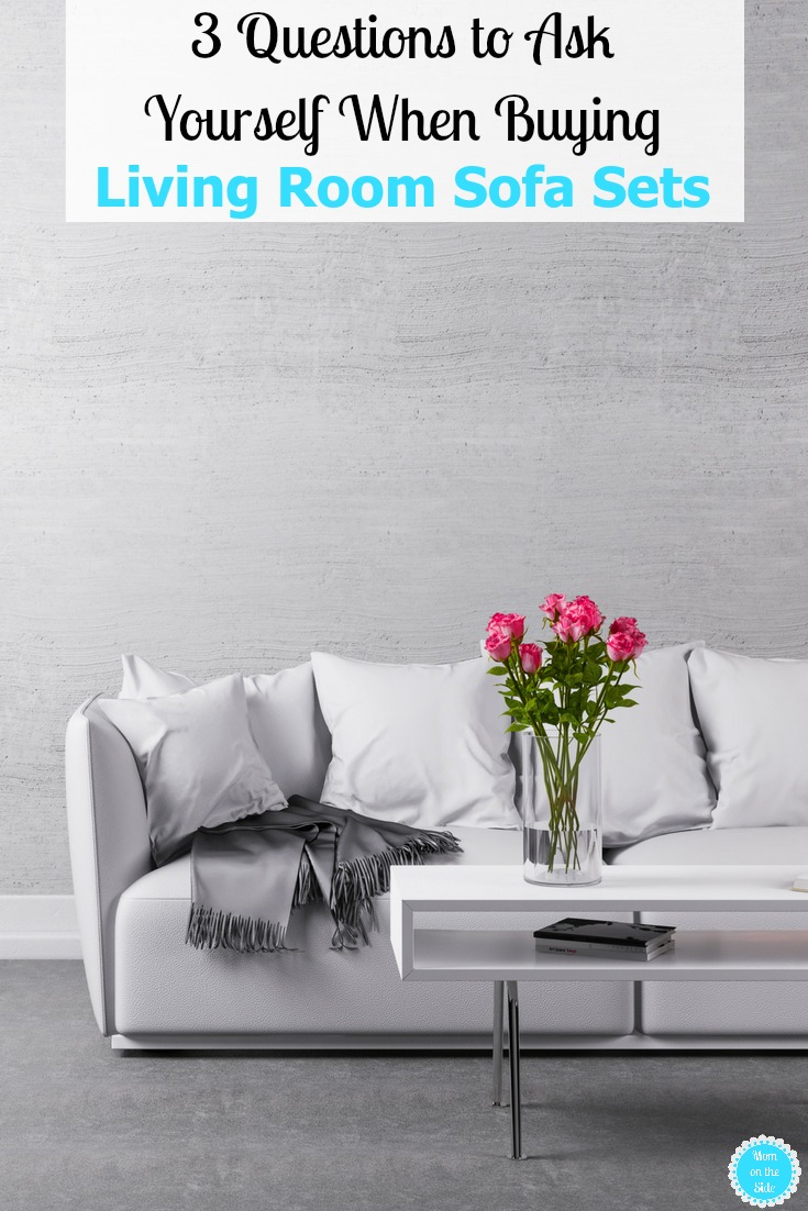 Updating the living room in your home? Here are 3 questions to ask yourself when buying living room sofa sets + La-Z-Boy's Annual Memorial Day Sale on sofas, loveseats, chairs, and more!