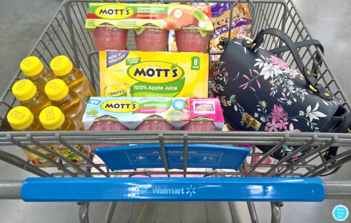 Mott's at Walmart to Get Excited About Growing