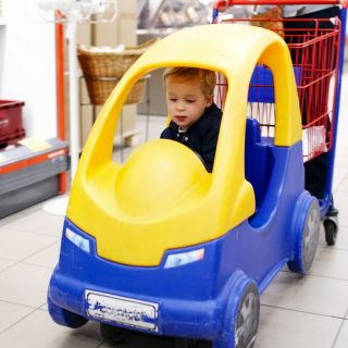 Secrets to Shopping with Toddlers