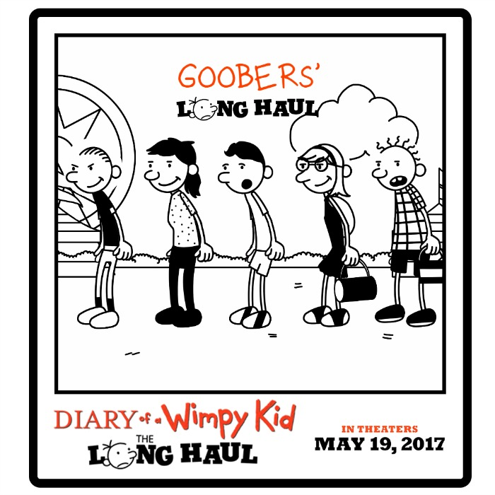 Diary of a Wimpy Kid: The Long Haul Wimp Yourself