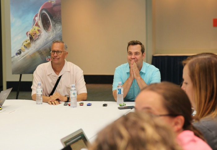 Final Cars 3 Interviews with Director Brian Fee