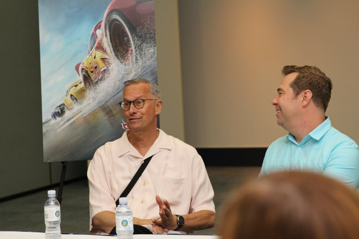 Final Cars 3 Interviews with Cast and Crew