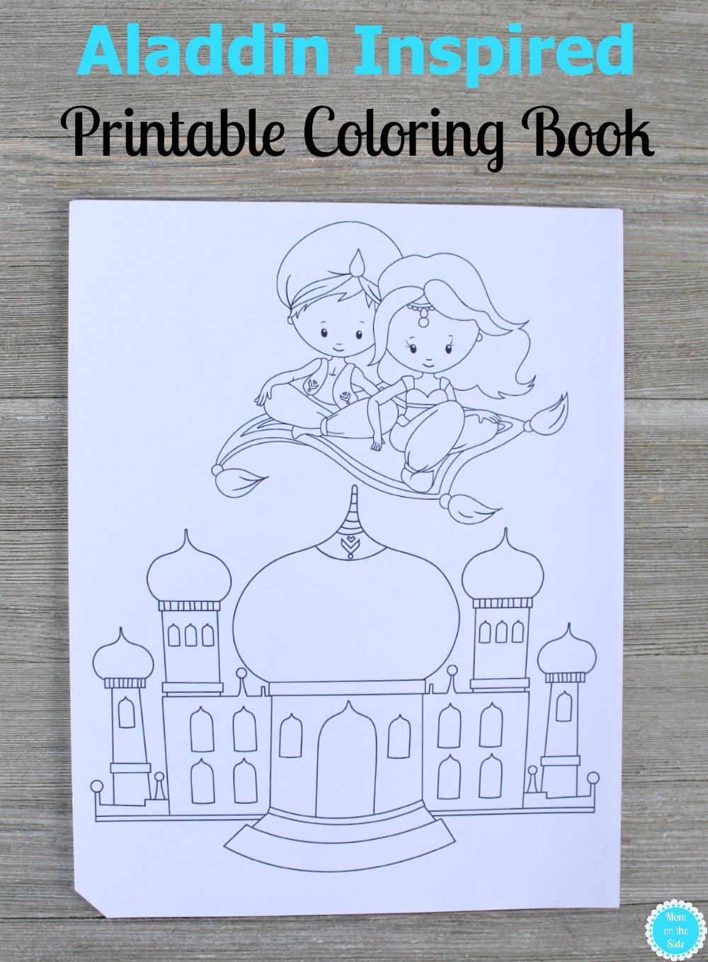 Printable Aladdin Coloring Book for Kids