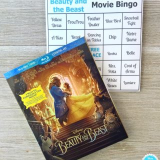 Beauty and the Beast Movie Bingo + New Belle Doll