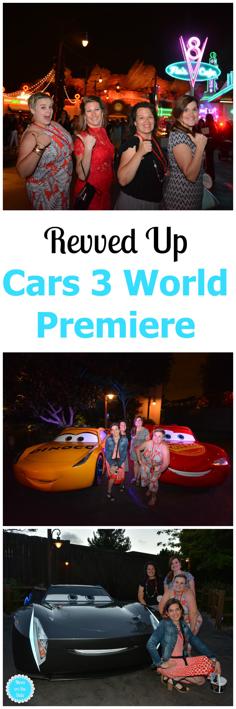 A virtual walk down the star studded fun filled Cars 3 World Premiere Red Carpet and After Party at Cars Land in Disneyland!