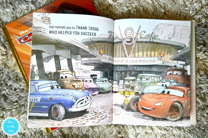 Cars 3 Toys and Cars 3 Books