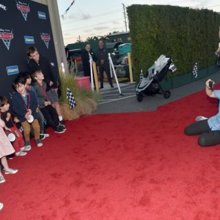 12 Heart Melting Family Photos from Cars 3 World Premiere