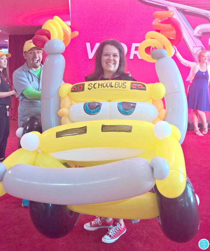 Cars 3 World Premiere Red Carpet Miss Fritter