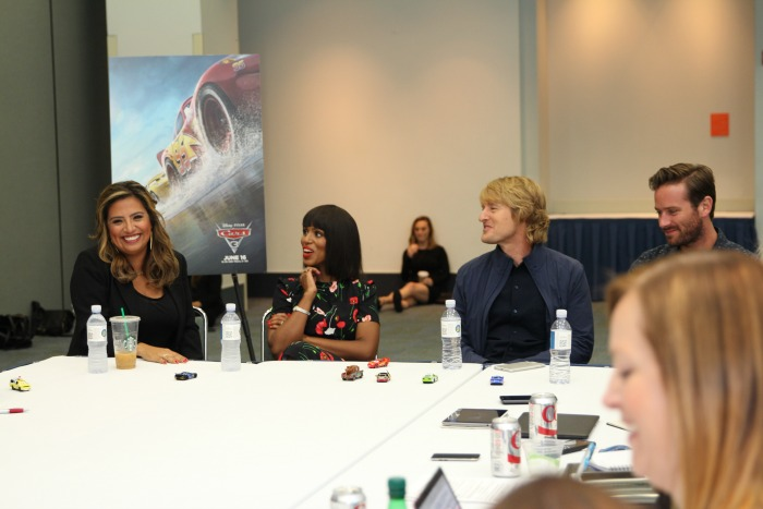 Cars 3 Interviews with Owen Wilson and Cast
