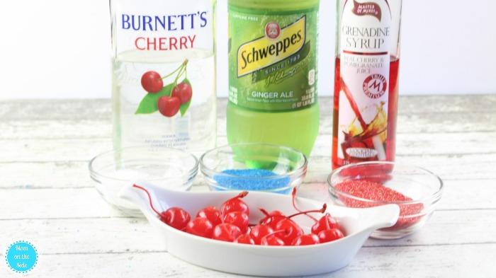 Cherry Bomb Cocktail Ingredients