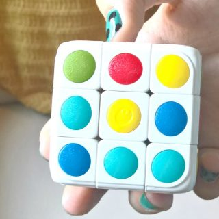 Brain Teaser Fun with Cube-tastic Puzzle Cube