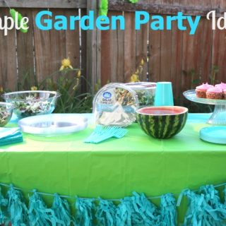 Simple Garden Party Ideas for a Wonderful Afternoon