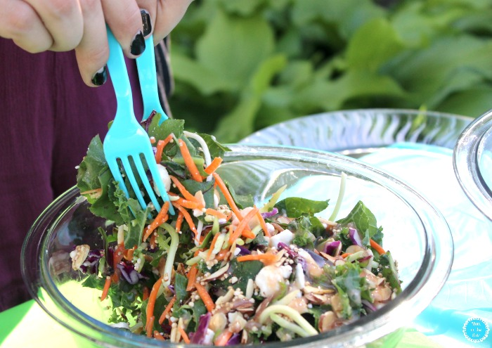 Simple Garden Party Ideas with Eat Smart