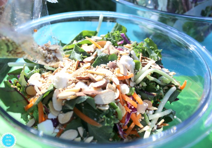 Eat Smart Gourmet Salad Kits for Simple Garden Party Ideas