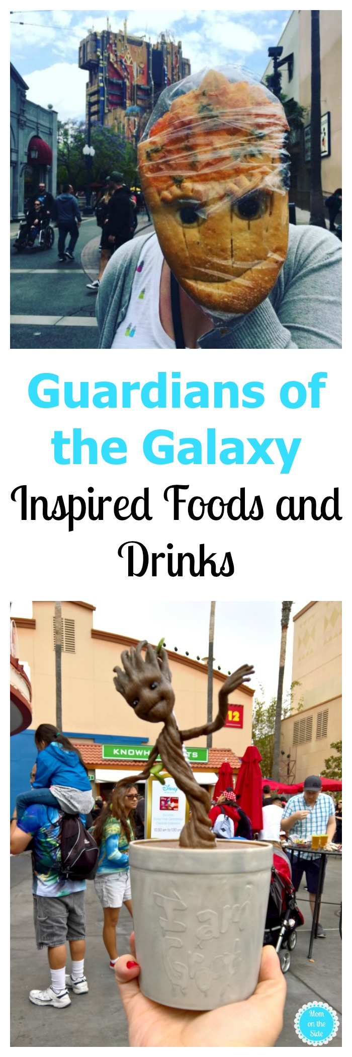 Guardians of the Galaxy Themed Food and Drinks at Summer of Heroes