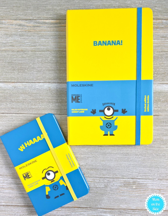 New Minions Moleskine Notebooks for Despicable Me 3