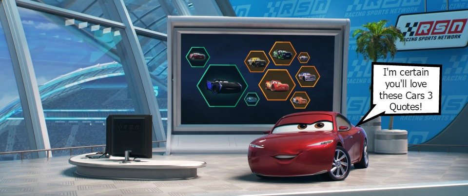 Movie Quotes from Cars 3