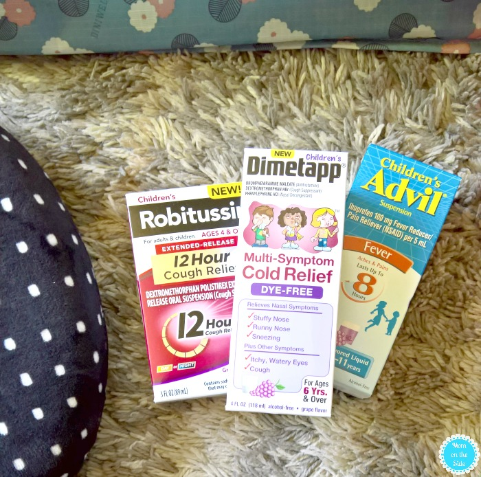 Road Trip Must Haves for Kids Including Medicine