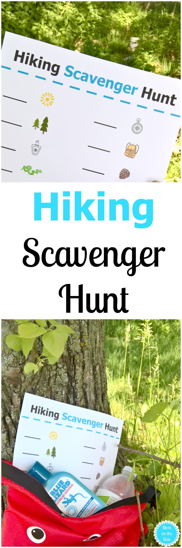 Hiking Scavenger Hunt Printable