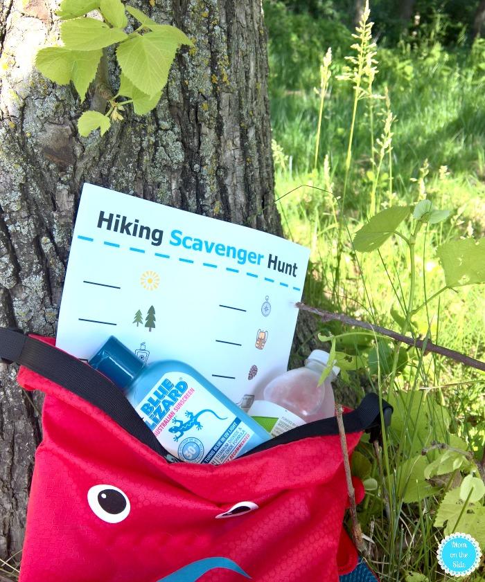 Printable Hiking Scavenger Hunt for Kids