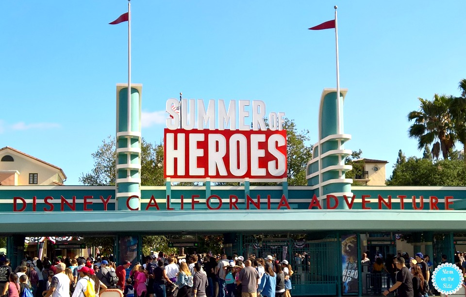 Summer of Heroes at Disneyland California Adventure