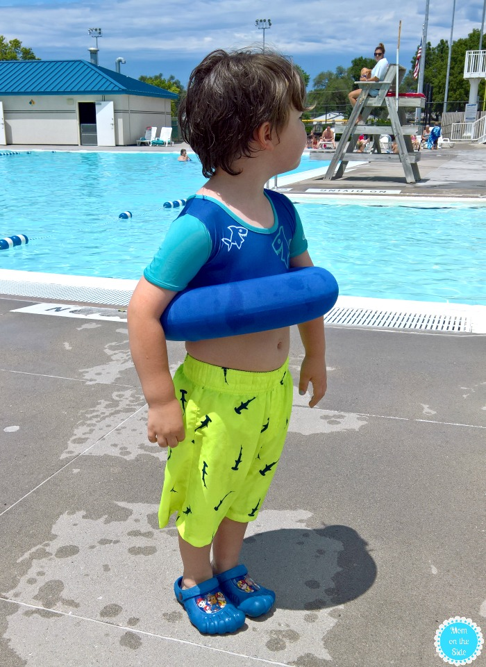 SwimWays Swim Step Two for going to the Pool with Toddlers