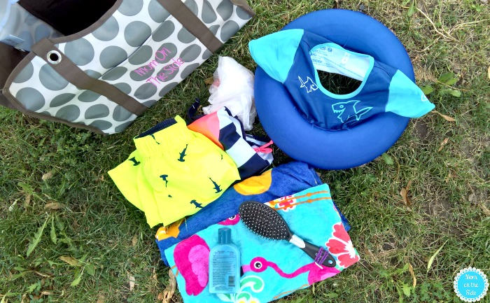 Swim Sweater and Pool Bag for Toddlers
